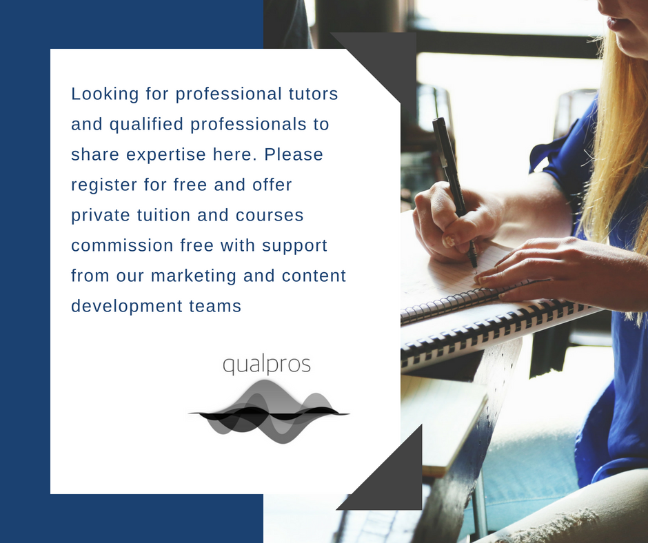QualPros looking for professional tutors